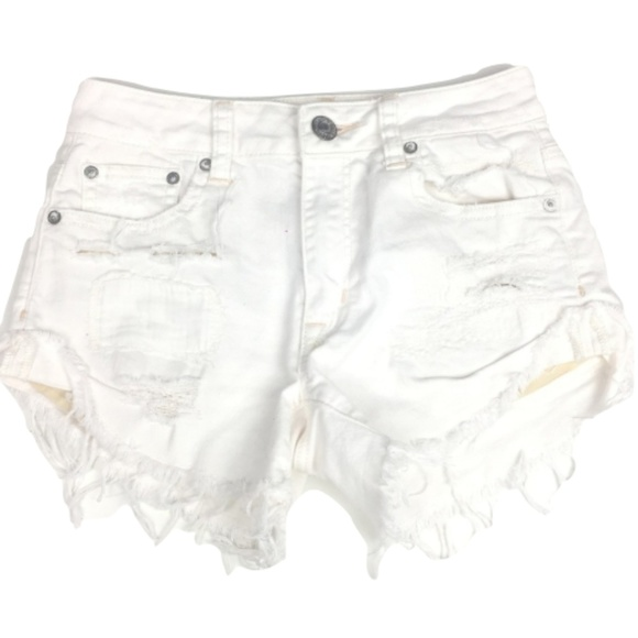 cd958f9735 American Eagle Outfitters Pants - American Eagle Outfitters Ripped Denim  Shorts